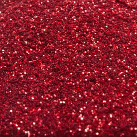 Ruby Red Glitter