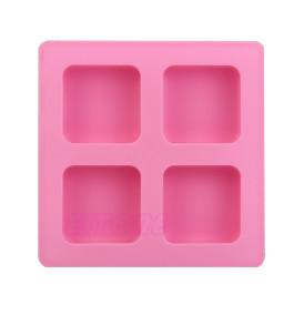 4 Square Cavity Silicone Mold