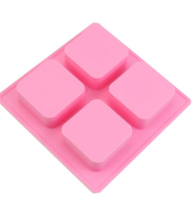 4 Square Cavity Silicone Mold