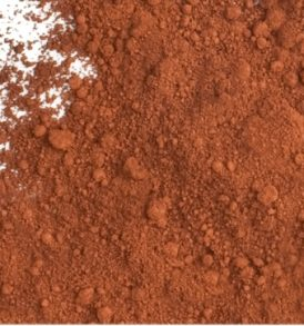 Brown oxide pigment powder