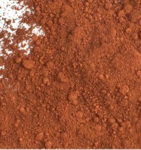 Brown oxide pigment powder
