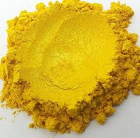 Golden Yellow Mica Powder
