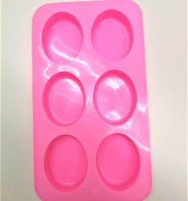 6 Cavity Oval mold 1