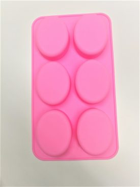 6 Cavity Oval mold