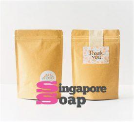 kraft Ziplock Bag