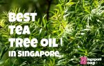 Where to Buy Tea Tree Oil in Singapore