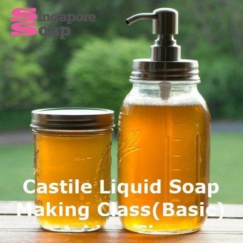 Castile Liquid Soap Making Class (Basic)